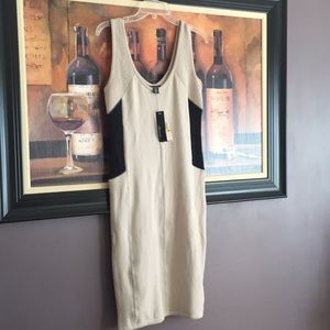 Kenneth Cole Cotton Cashmere Slip Dress